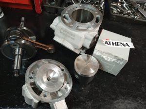 Tororacing derbi gpr 125 athena 200cc kit 1